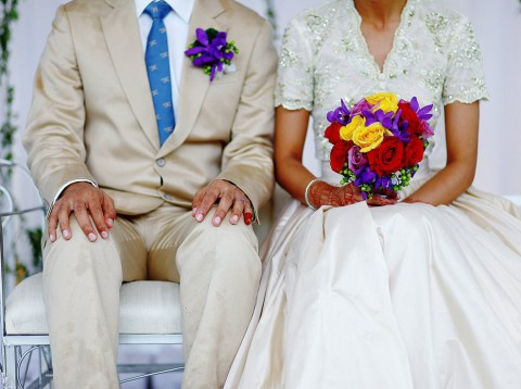 joven matrimonio