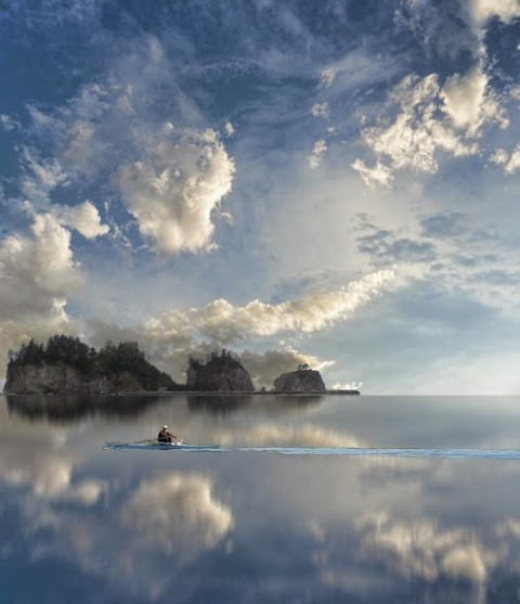 Peaceful Sky by Peter Holme