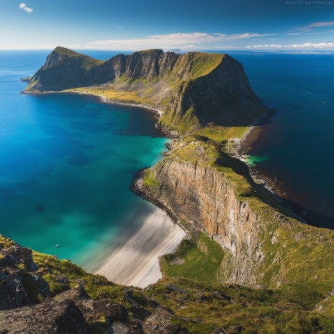 Ends of the Earth - Warps the Lofoten Island Ridge, North Norway by Daniel Korzhonov