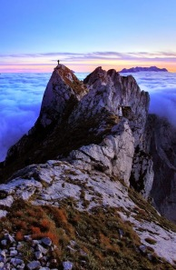 Above the Abyss - Julian Alps, Slovenia by Dan Briski