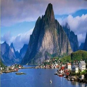 Gudvangen Village, Nærøyfjord - Norway