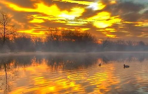 Colorful Dawn by Boris Frkovic