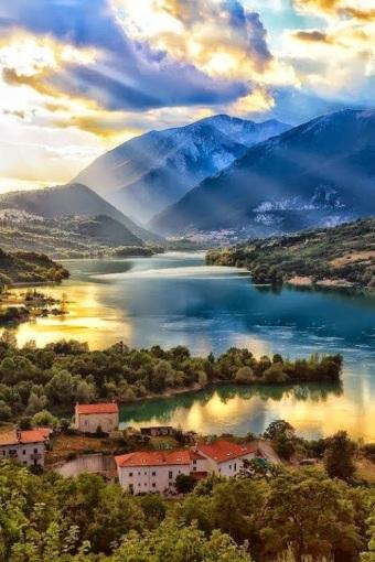 Lake Barrea, L'Aquila Province - Italy by Giovanni Di Gregorio