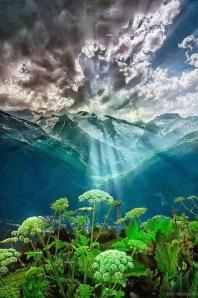 Sunrise over the mountains - Karachay, Cherkess, Russia