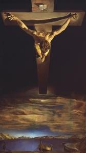 cristo de san juan de cruz, por Dali