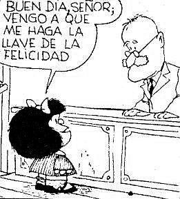 llave de la felicidad mafalda