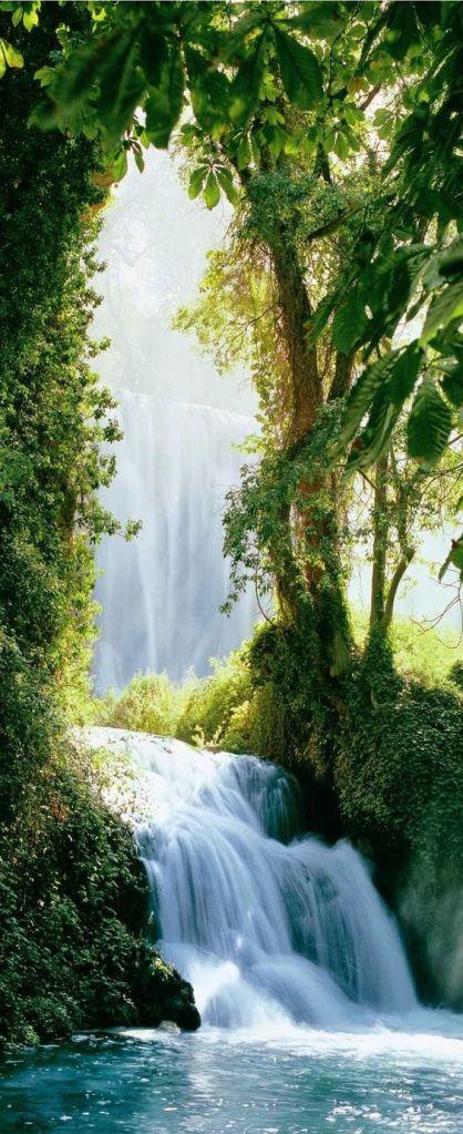 caridad y castidad paisaje