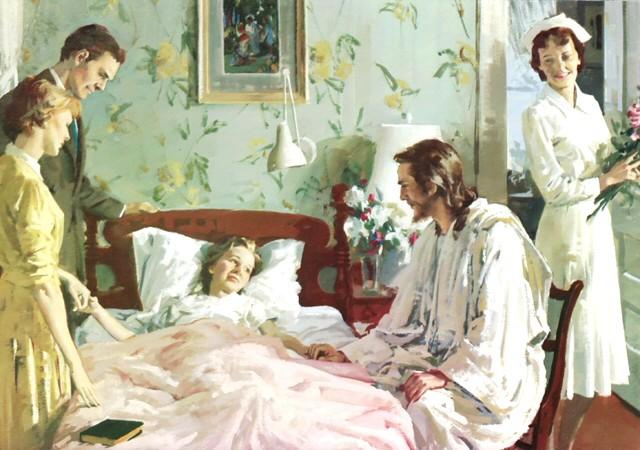 visitar enfermos